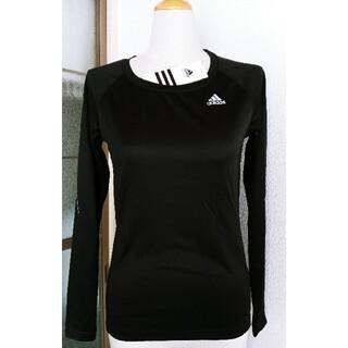 アディダス(adidas)のADDIDAS レディースシャツ長袖(シャツ/ブラウス(長袖/七分))
