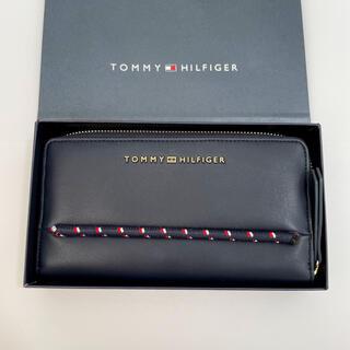 トミーヒルフィガー(TOMMY HILFIGER)の新品 Tommy Hilfiger 長財布 ネイビー(長財布)