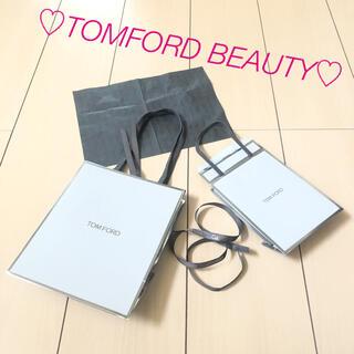 トムフォード(TOM FORD)のトムフォード  TOM FORD ショップ袋&リボン&ラッピングペーパー(ショップ袋)