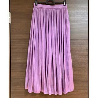 エニィファム(anyFAM)のプリーツスカート(ロングスカート)