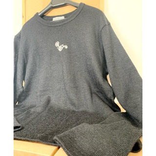 ヨウジヤマモト(Yohji Yamamoto)のヨウジヤマモト プールオム * ウルトラマン アルパカ セーター(ニット/セーター)