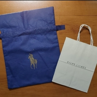 ラルフローレン(Ralph Lauren)のRalph Lauren ラッピング袋 紙袋 ショッパー(ショップ袋)