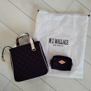 MZ WALLACE トートバッグ(ポーチ・専用袋付き)