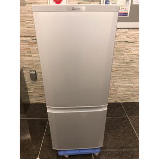 ミツビシデンキ(三菱電機)の【直接引取無料】MITSUBISHI 冷蔵庫 MR-P15D-S  2019年製(冷蔵庫)