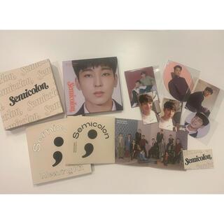 セブンティーン(SEVENTEEN)のSEVENTEEN セブチ アルバム Semicolon セミコロン ウォヌ(K-POP/アジア)
