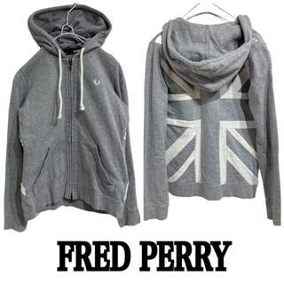 フレッドペリー(FRED PERRY)のFRED PERRY 刺繍ロゴ イギリス国旗 パーカー ユニオンジャック(パーカー)