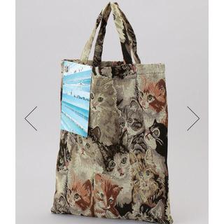 ワンエルディーケーセレクト(1LDK SELECT)のBLESS n° ブレス cat tote bag ゴブラン 猫 トートバッグ(トートバッグ)