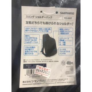 SHIMANO - スリング ショルダーバック SHIMANO