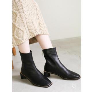 カスタネ(Kastane)のselectmoca セレクトモカ サークルヒールブーツ(ブーツ)