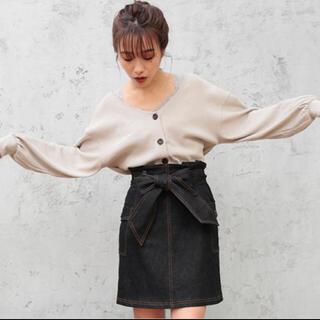 ナイスクラップ(NICE CLAUP)の新品未使用✨ナイスクラップ スカート デニム(ひざ丈スカート)