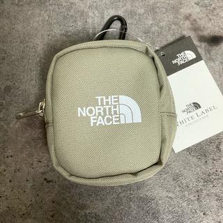 ザノースフェイス(THE NORTH FACE)のノースフェイス ミニポーチ コインケース TEA ホワイトレーベル 在庫1(コインケース)