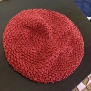 マウジー(moussy)のmoussy♡赤ベレー帽(ハンチング/ベレー帽)