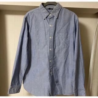 クーティー(COOTIE)のXL COOTIE オックスフォード ワーク シャツ サックス(Tシャツ/カットソー(七分/長袖))