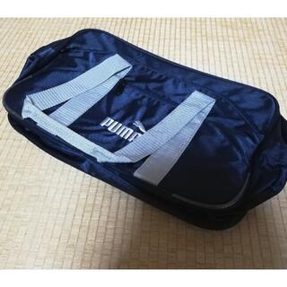 プーマ(PUMA)のプーマ バッグ 鞄 未使用 新品 紺(ハンドバッグ)