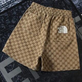 Gucci - 刺繡ロゴジョイントジャカードカジュアルショーツ