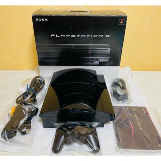 プレイステーション3(PlayStation3)の☆すぐ遊べるセット ほぼ完品☆PS3 本体 初期型 CECHB00 動作確認済み(家庭用ゲーム機本体)