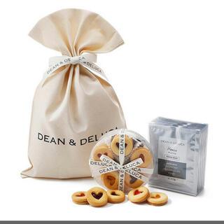 DEAN & DELUCA - 新品 DEAN&DELUCA ギフト袋入  ハートジャムクッキー&コーヒーギフト