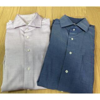 スーツカンパニー(THE SUIT COMPANY)のTHE SUIT COMPANY slim fit shirts 2枚組(シャツ)