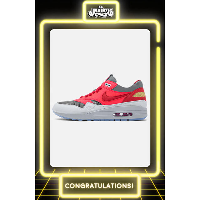 "NIKE(ナイキ)のCLOT × NIKE AIR MAX 1 ""K.O.D"" SOLAR RED メンズの靴/シューズ(スニーカー)の商品写真"