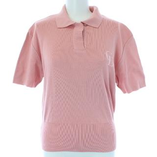 クリスチャンディオール(Christian Dior)のクリスチャンディオール ヴィンテージ ポロシャツ 半袖 M ピンク(ポロシャツ)