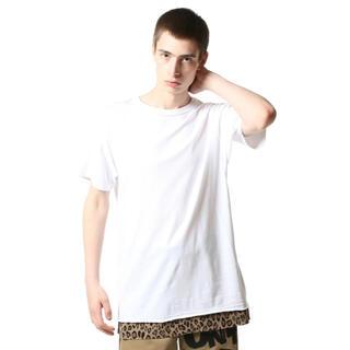ソフ(SOPH)のuniform experiment レオパードレイヤードTシャツ (Tシャツ/カットソー(半袖/袖なし))