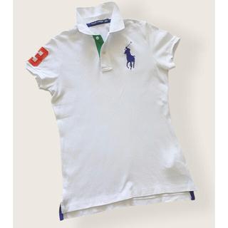 ラルフローレン(Ralph Lauren)のラルフローレン ポロシャツ ビッグポニー レディース ホワイト(ウエア)