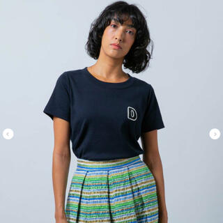 ダブルスタンダードクロージング(DOUBLE STANDARD CLOTHING)のDSC/24/-フライスDロゴTシャツ(Tシャツ/カットソー(半袖/袖なし))