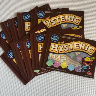 ヒステリックミニ(HYSTERIC MINI)のヒステリックミニ チョコ柄ジップショップ袋10枚‼️(ショップ袋)