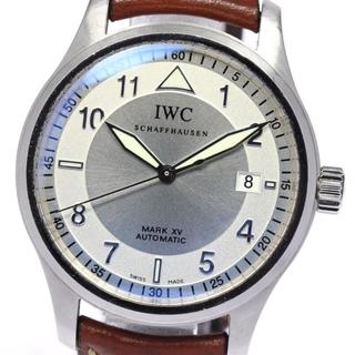 インターナショナルウォッチカンパニー(IWC)のIWC スピットファイア マークXV IW325313  メンズ 【中古】(腕時計(アナログ))