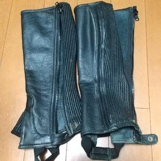 【クニタン様専用】乗馬用品  チャップス  stitcherサイズ L(その他)