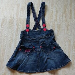 ロニィ(RONI)の«RONI»デニムスカート サロペット ジャンパースカート(スカート)