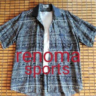 レノマ(RENOMA)のほぼ新品・レノマスポーツクラブの日本製メンズシャツ(シャツ)
