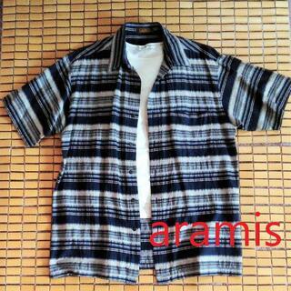 アラミス(Aramis)のほぼ新品・アラミスの日本製メンズシャツ(シャツ)