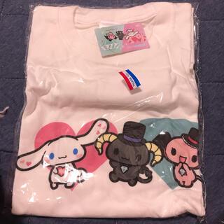 サンリオ(サンリオ)のシナモロール コラボTシャツ(Tシャツ/カットソー(半袖/袖なし))