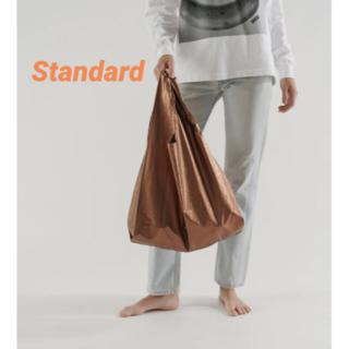 BAGGU 完売品 エコバッグ スタンダード コッパー メタリック 新品未使用(エコバッグ)