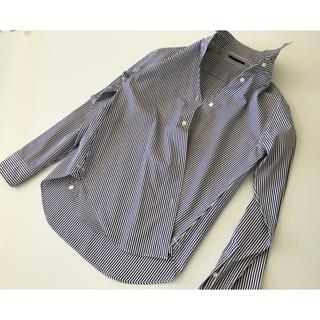 ドゥーズィエムクラス(DEUXIEME CLASSE)のDEUXIEME CLASSE ストライプ2wayカシュクールシャツ(シャツ/ブラウス(長袖/七分))