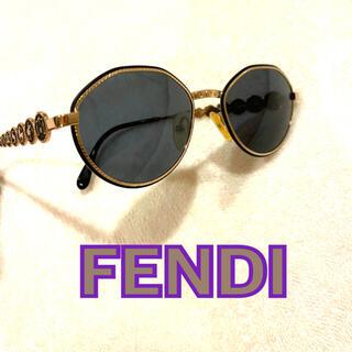 フェンディ(FENDI)のFENDI フェンディ サングラス 美品 ユーズド 星座(サングラス/メガネ)