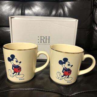 Ron Herman - 入手困難!ロンハーマン5周年×ミッキーコラボマグカップ 2個セット