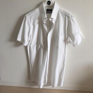 スーツカンパニー(THE SUIT COMPANY)のスーツカンパニーメンズシャツ半袖白Lサイズ(シャツ)