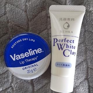 シセイドウ(SHISEIDO (資生堂))のVaseline リップ & 資生堂 洗顔専科 洗顔フォーム ミニサイズ(サンプル/トライアルキット)