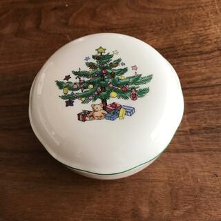 NIKKO - ニッコー NIKKO クリスマス 蓋付き 小物入れ