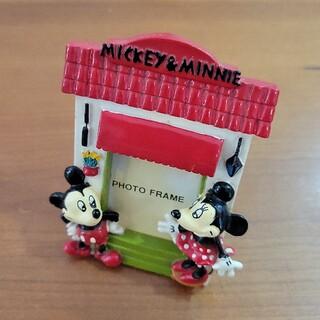 ミッキーマウス(ミッキーマウス)のミッキー ミニー フォトフレーム マグネット(フォトフレーム)