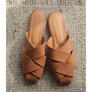 トゥデイフル(TODAYFUL)のtodayful Weave Comfort Sandals 38(サンダル)