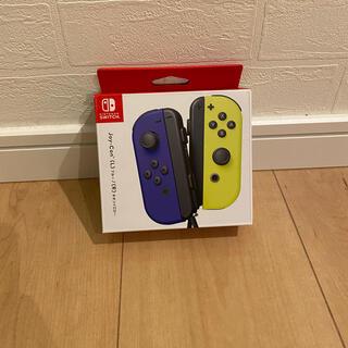 ニンテンドースイッチ(Nintendo Switch)のSwitch ジョイコン Joy-Con ブルー/ネオンイエロー(その他)