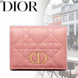 ディオール(Dior)のDIOR CARO コンパクトウォレット(財布)