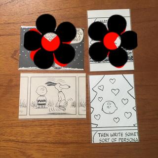 スヌーピー(SNOOPY)のスヌーピーミュージアム✿︎原画ポストカード2枚セット(写真/ポストカード)
