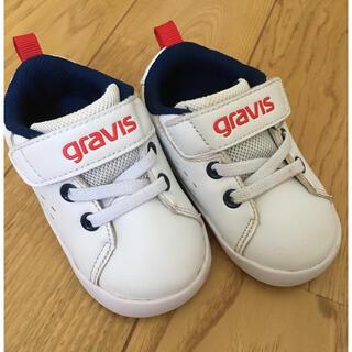 グラビス(gravis)のgravis  ベビー スニーカー 13センチ(スニーカー)