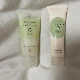 トッカ(TOCCA)のTOCCA ハンドクリーム ボディーケアスクラブ ジュリエッタの香り(ハンドクリーム)