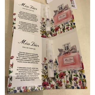 ディオール(Dior)のディオール  DIOR 香水サンプル 2本(香水(女性用))