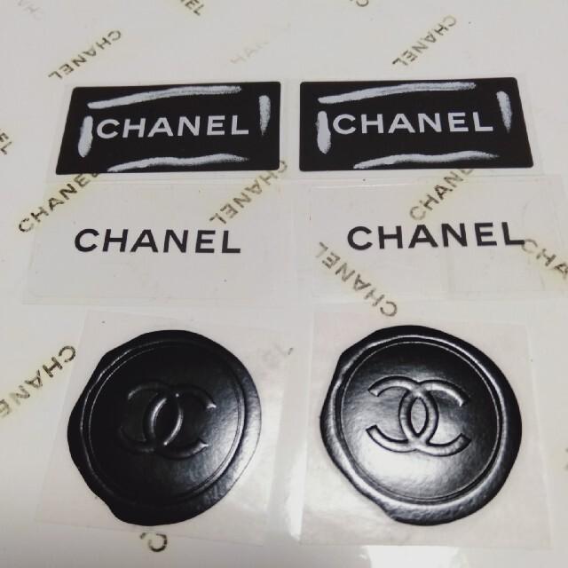 CHANEL(シャネル)の④シャネルシール6点 インテリア/住まい/日用品の文房具(シール)の商品写真